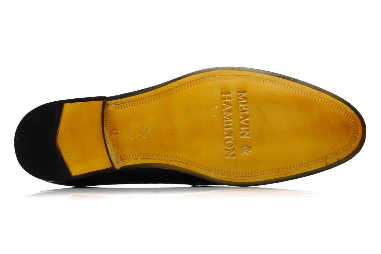 Scarpe con lacci Melvin & Hamilton George Nero immagine dall'alto