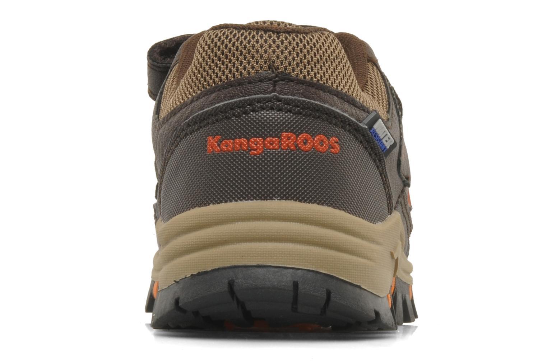 Sneakers Kangaroos Tigua V Bruin rechts