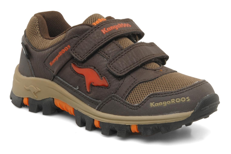 Sneakers Kangaroos Tigua V Bruin detail