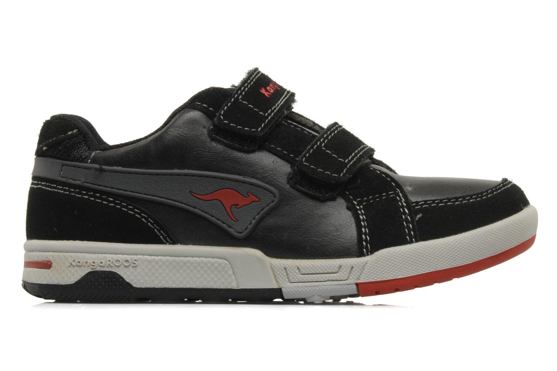 Sneakers Kangaroos Elden Zwart achterkant