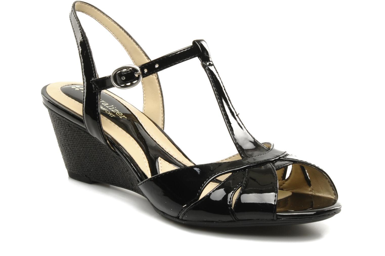 Sandales et nu-pieds Naturalizer Holt Noir vue détail/paire