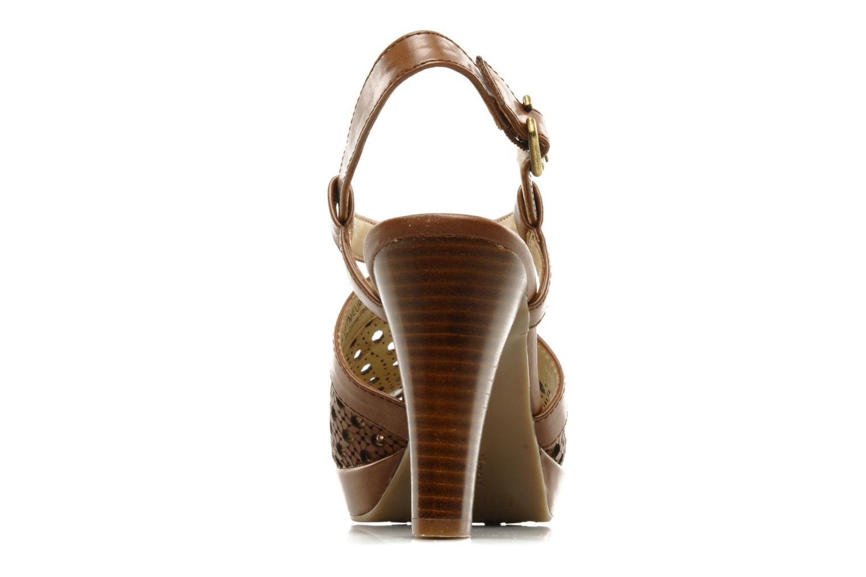 Sandalen Naturalizer Korina braun ansicht von rechts