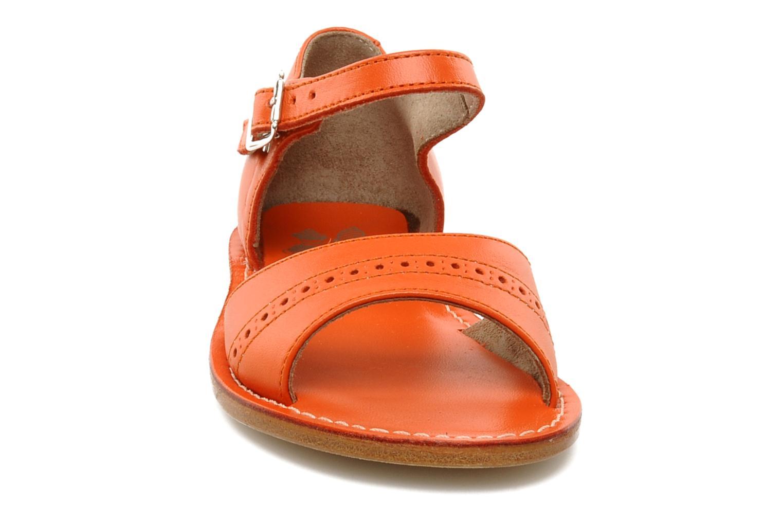 Sandales et nu-pieds start rite classics MEG Orange vue portées chaussures