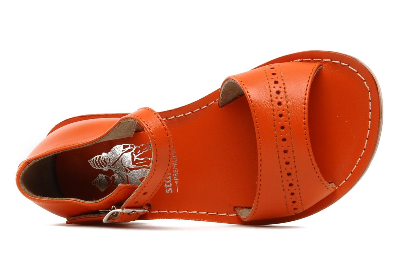 Sandales et nu-pieds start rite classics MEG Orange vue gauche