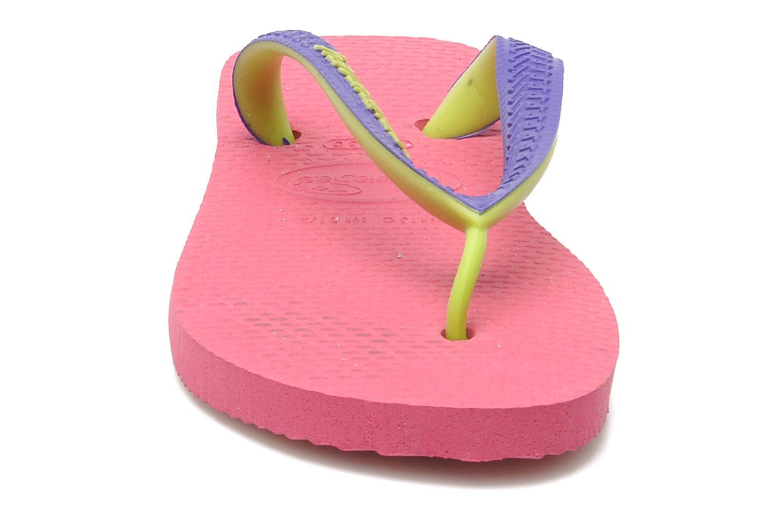 Tongs Havaianas Top mix Kid Rose vue portées chaussures