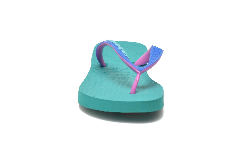 Flip flops Havaianas Top mix Kid Green model view