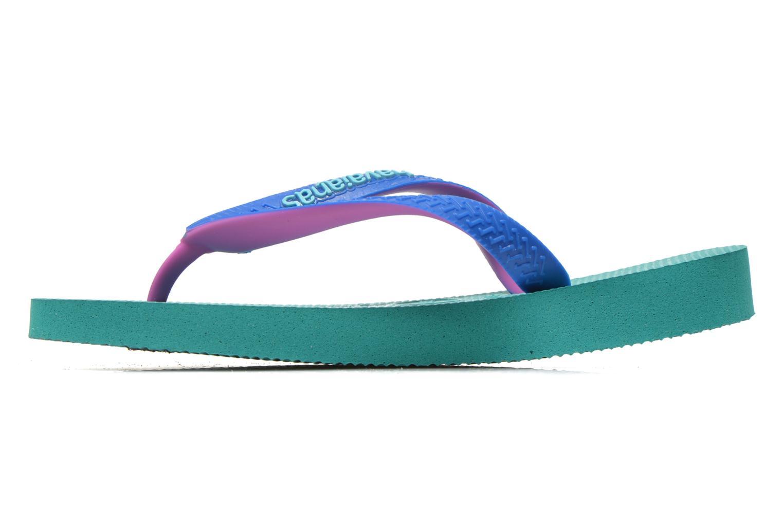 Flip flops Havaianas Top mix Kid Green front view