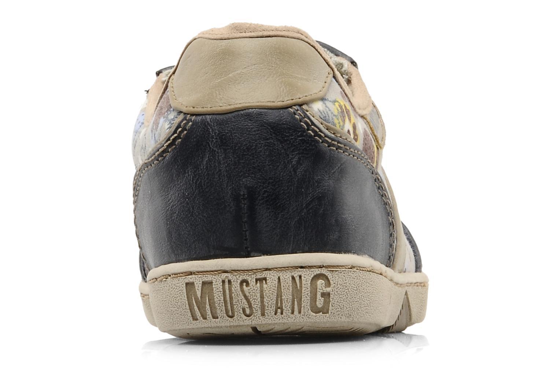 Sneakers Mustang shoes Poky Blauw rechts