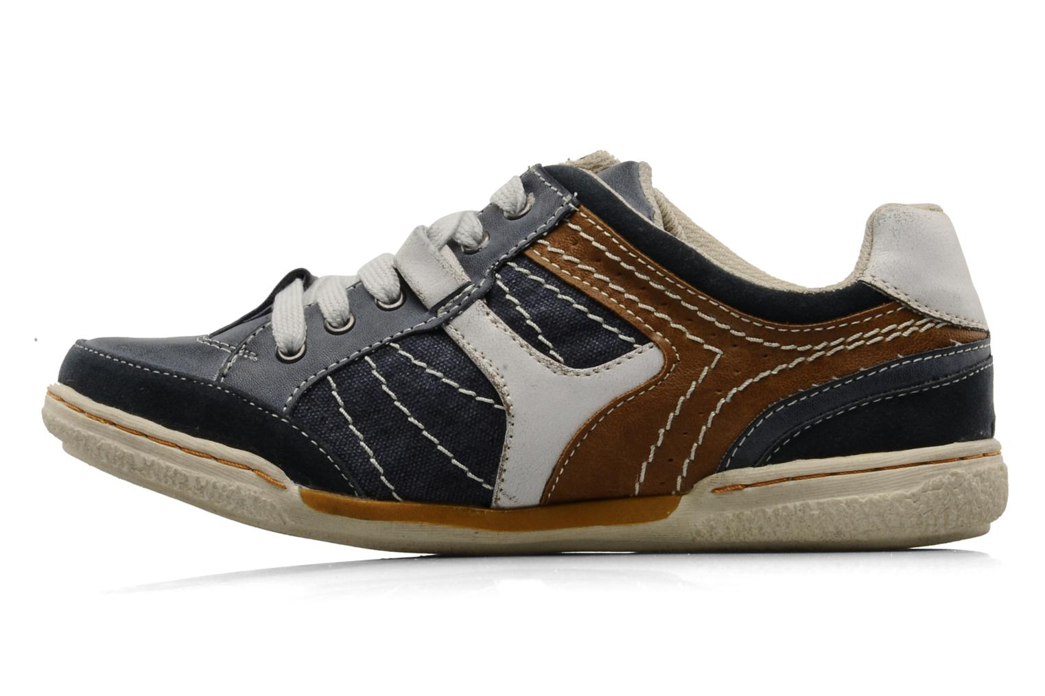 Sneakers Mustang shoes Yupo Blauw voorkant