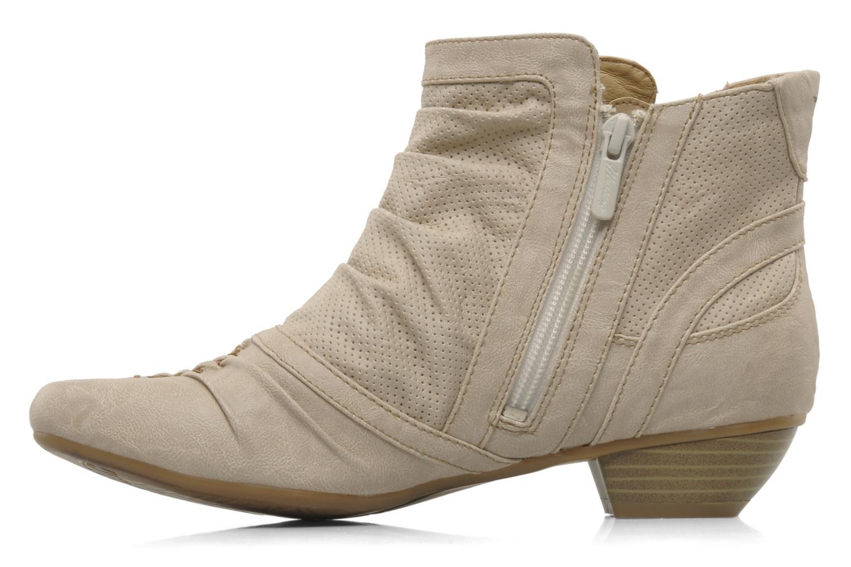 Stiefeletten & Boots Mustang shoes Macere beige ansicht von vorne