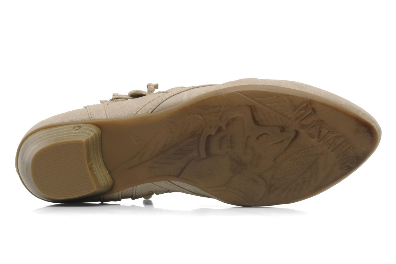 Stiefeletten & Boots Mustang shoes Macere beige ansicht von oben