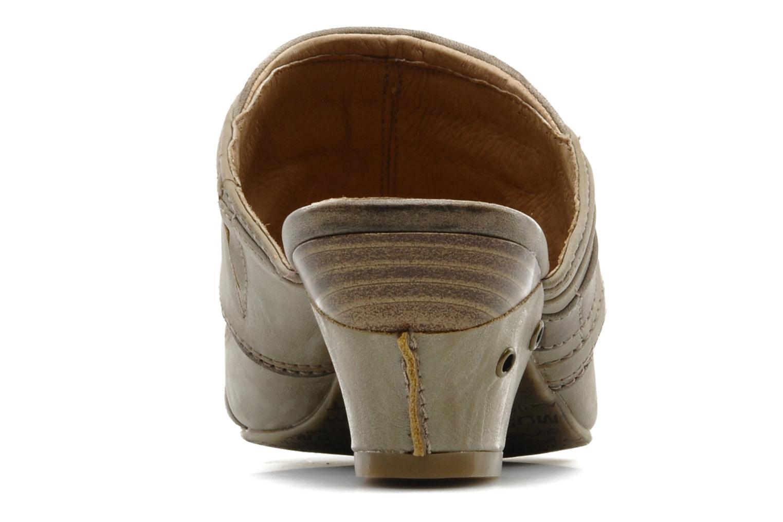 Zoccoli Mustang shoes Melkite Grigio immagine destra