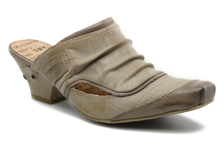 Zoccoli Mustang shoes Melkite Grigio vedi dettaglio/paio
