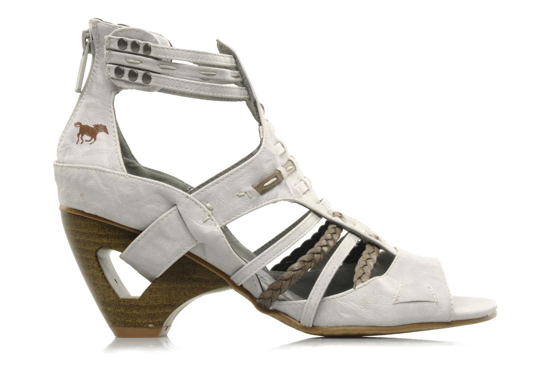 Sandales et nu-pieds Mustang shoes Momine Blanc vue derrière
