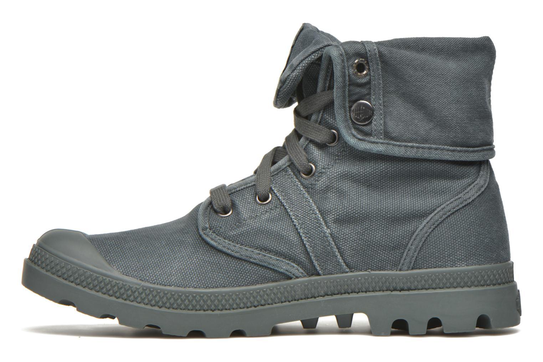 Sneakers Palladium Us Baggy H Grijs voorkant