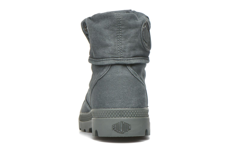 Sneakers Palladium Us Baggy H Grijs rechts