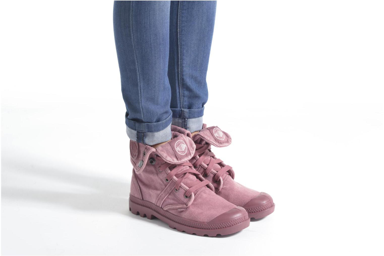 Sneakers Palladium Us Baggy F Grijs onder
