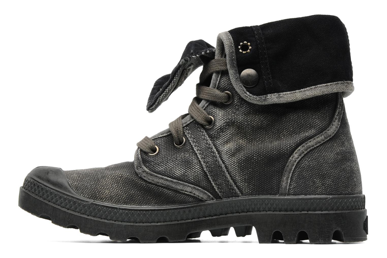 Sneakers Palladium Us Baggy F Grijs voorkant