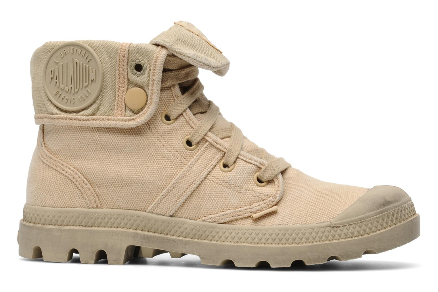 Trainers Palladium Us Baggy F Beige back view