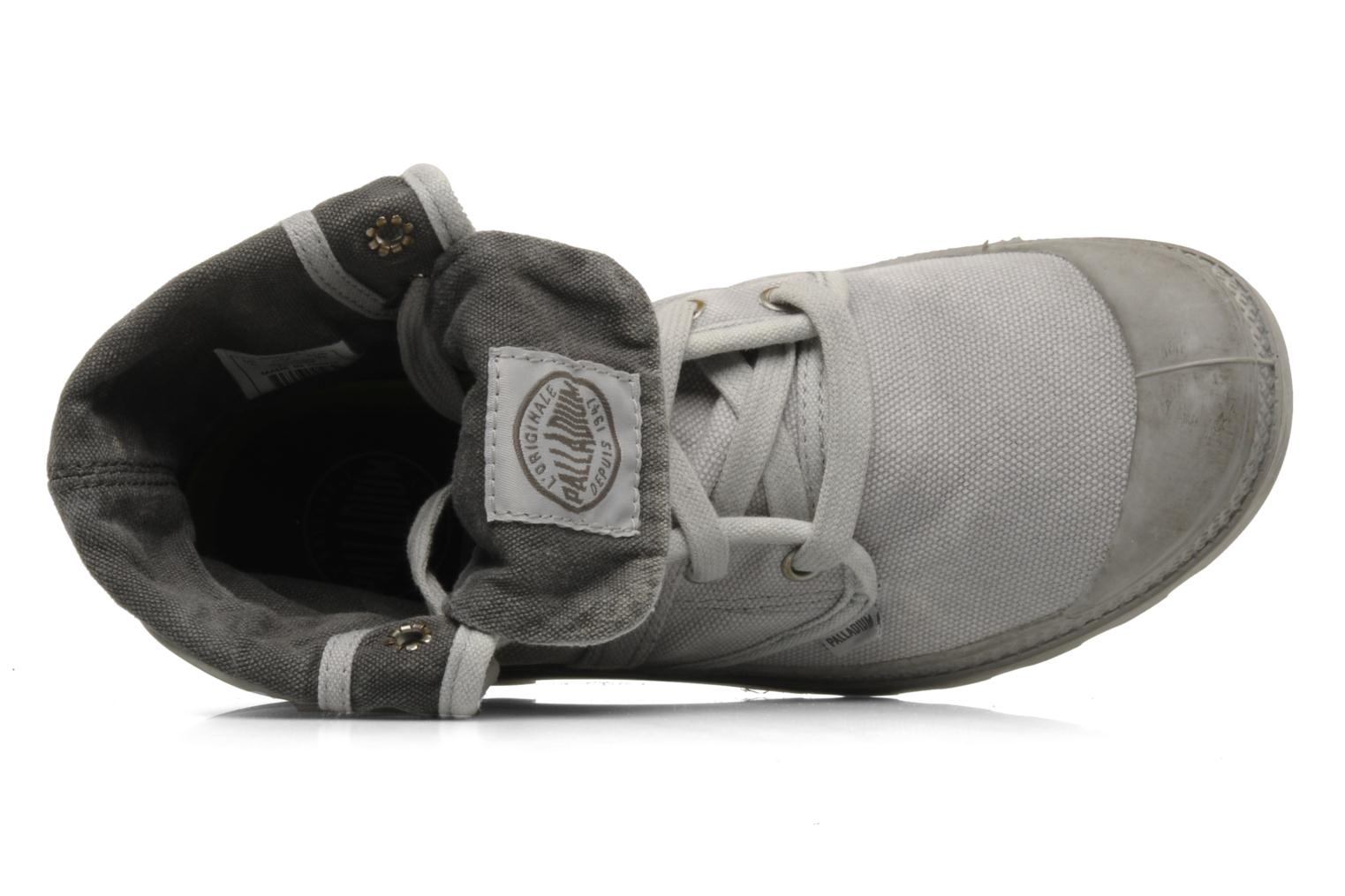 Trainers Palladium Us Baggy F Grey view from the left