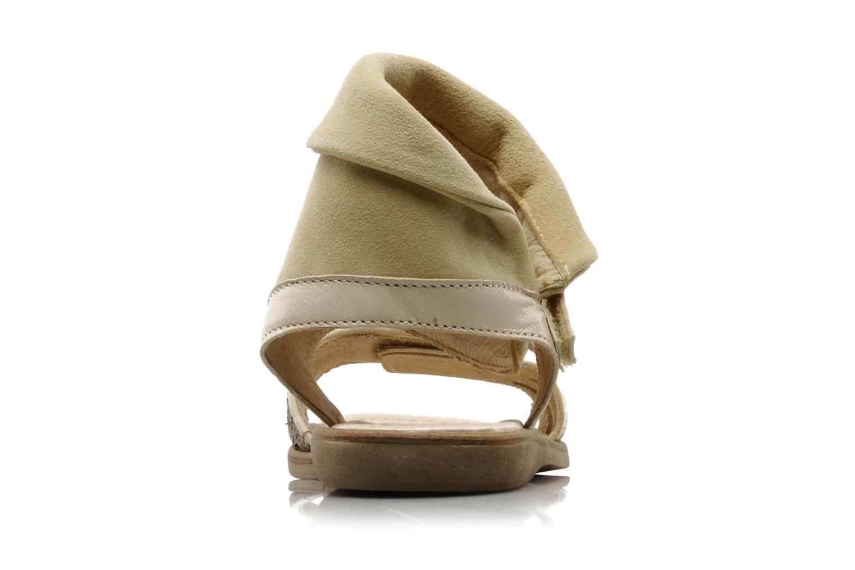 Sandales et nu-pieds Hip Hiloa Beige vue droite