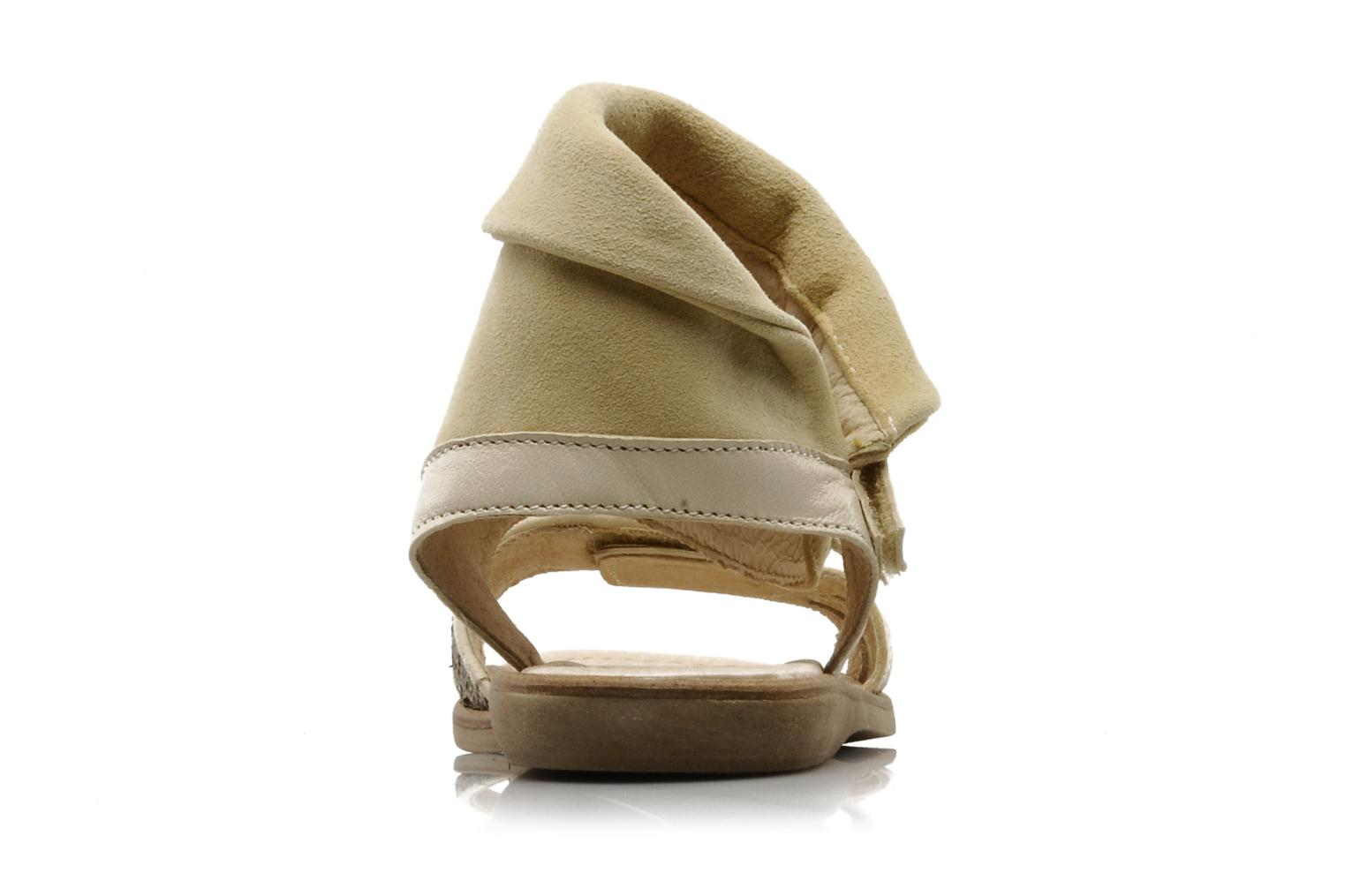 Sandals Hip Hiloa Beige view from the right