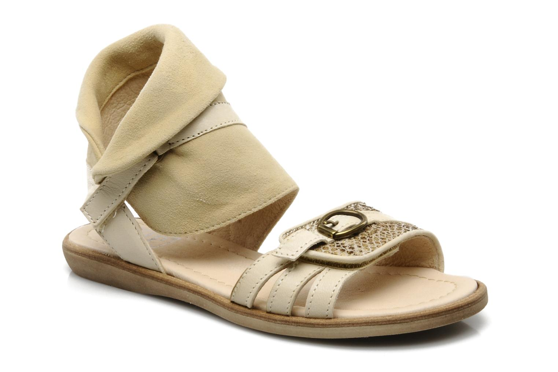 Sandales et nu-pieds Hip Hiloa Beige vue détail/paire