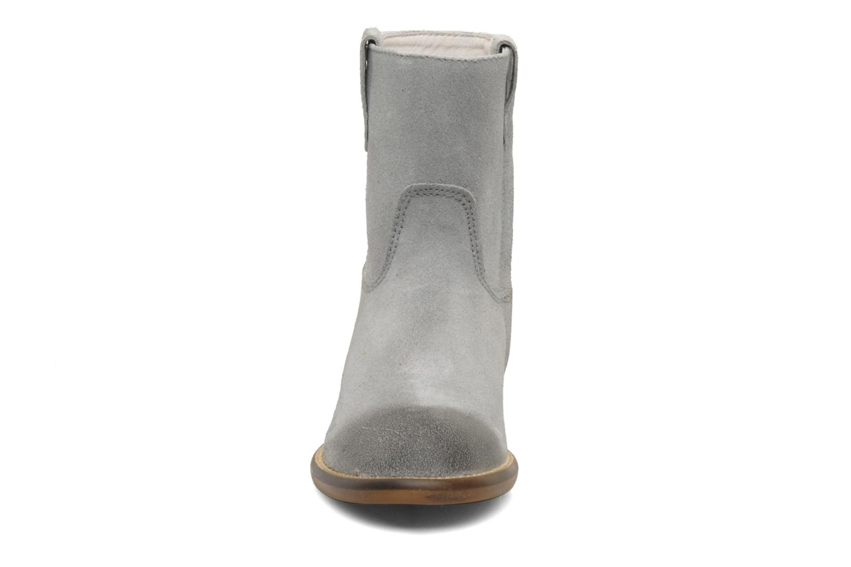 Bottines et boots Hip Hini Gris vue portées chaussures