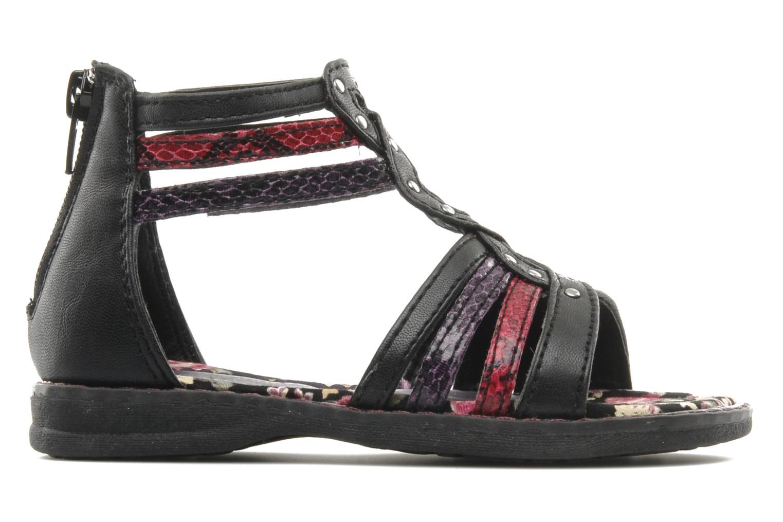 Sandalen I Love Shoes Stefania schwarz ansicht von hinten