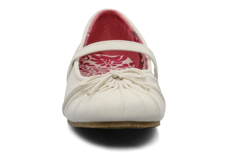 Ballerines I Love Shoes Perla Blanc vue portées chaussures