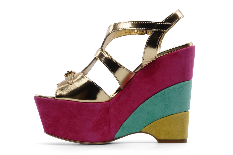 Sandales et nu-pieds Moschino Cheap & Chic Cepale Multicolore vue face
