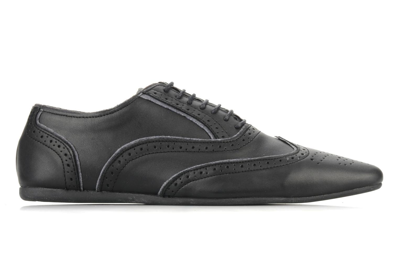 Lace-up shoes Schmoove Jamaica Grunge Garment Split Black back view
