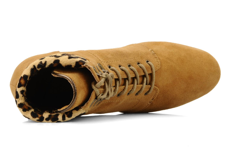 Boots en enkellaarsjes No Name Diva Treck Beige links
