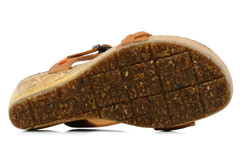 Sandales et nu-pieds Art Menorca 290 Marron vue haut