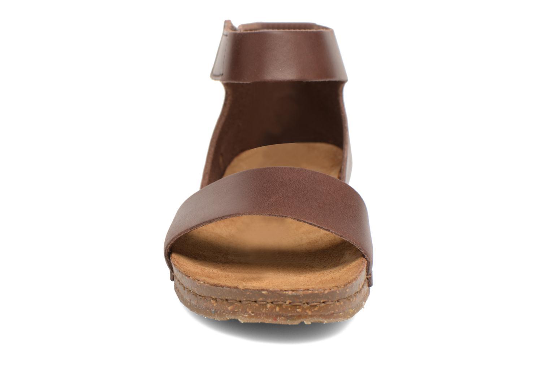 Sandales et nu-pieds Art Creta 440 Marron vue portées chaussures