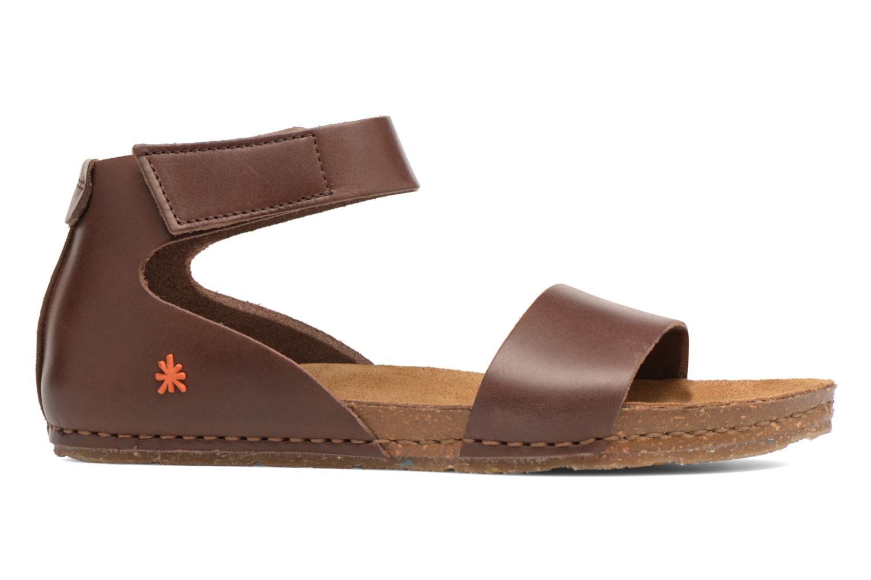Sandales et nu-pieds Art Creta 440 Marron vue derrière
