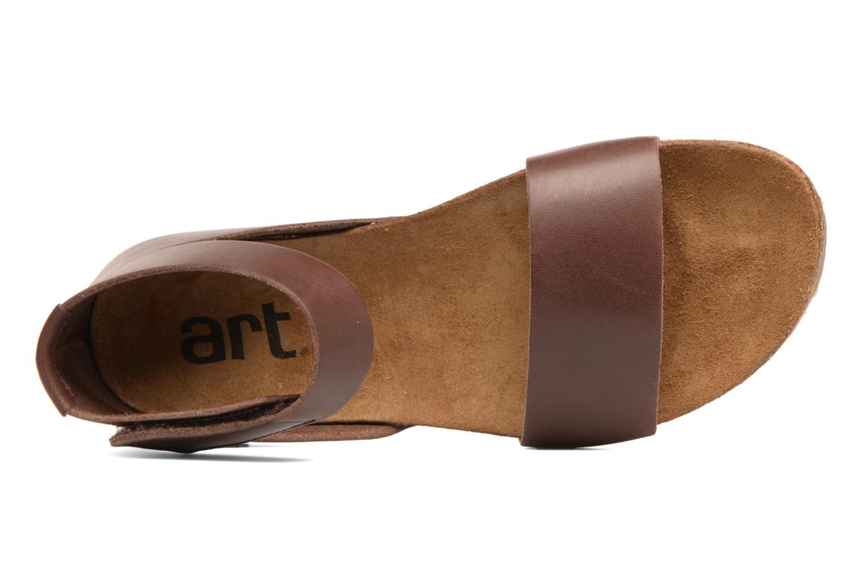 Sandales et nu-pieds Art Creta 440 Marron vue gauche