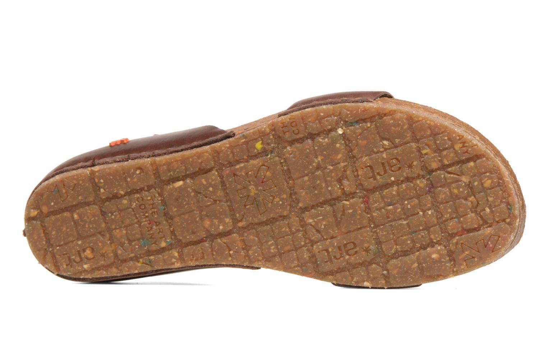 Sandales et nu-pieds Art Creta 440 Marron vue haut