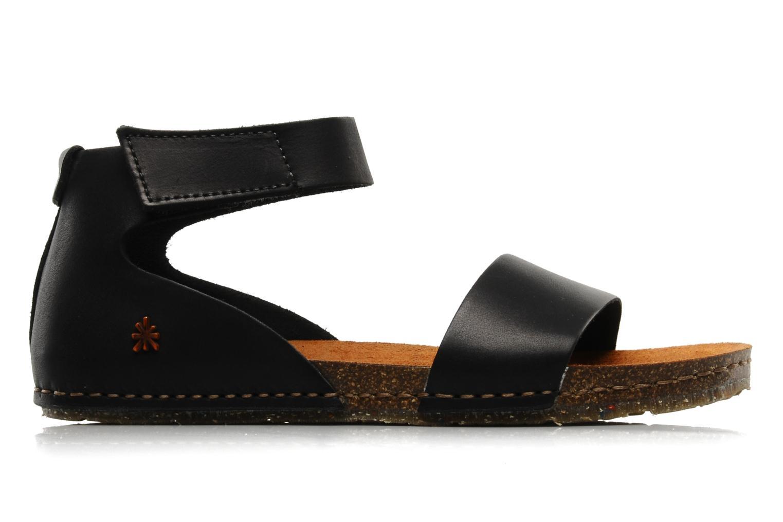 Sandales et nu-pieds Art Creta 440 Noir vue derrière