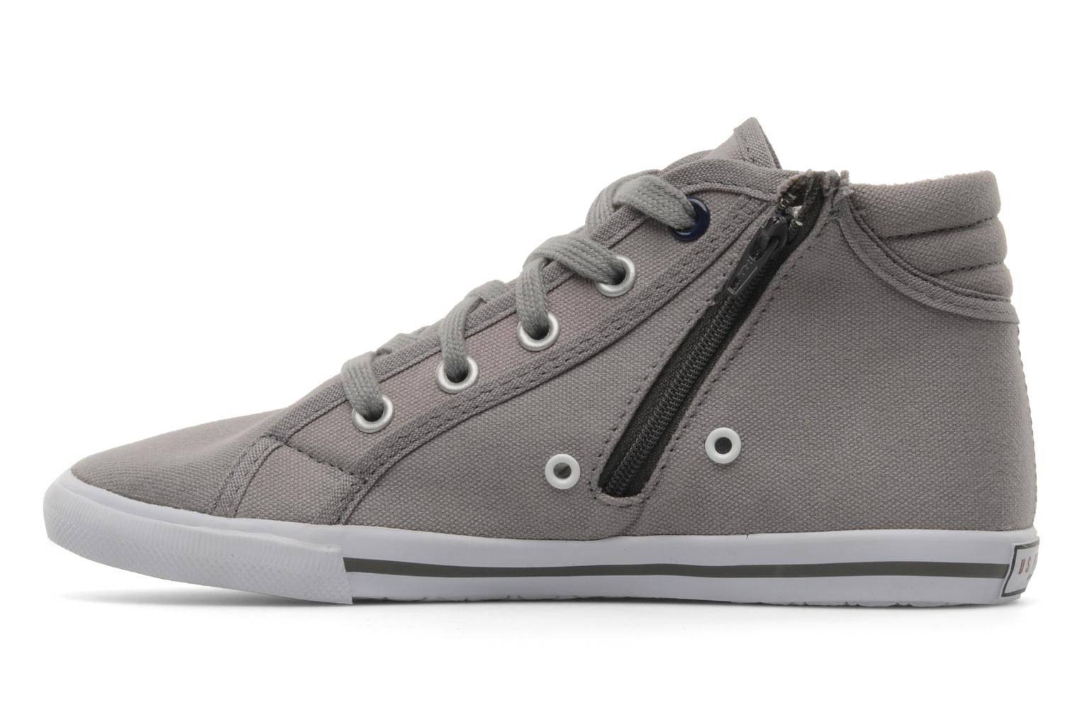 Baskets U.S Polo Assn. BOMI Gris vue face