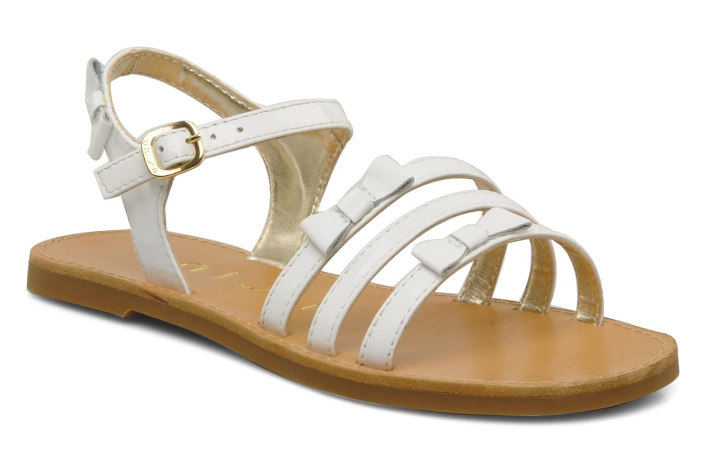 Sandals Unisa Yastin White detailed view/ Pair view