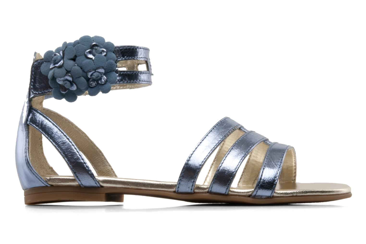 Sandals Unisa Lilo Blue back view
