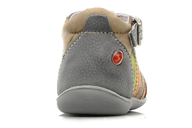 Bottines et boots GBB Babyboy 151 Gris vue droite