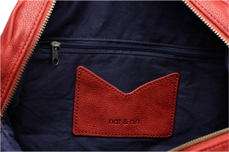 Handtassen Nat & Nin Bonnie Rood achterkant