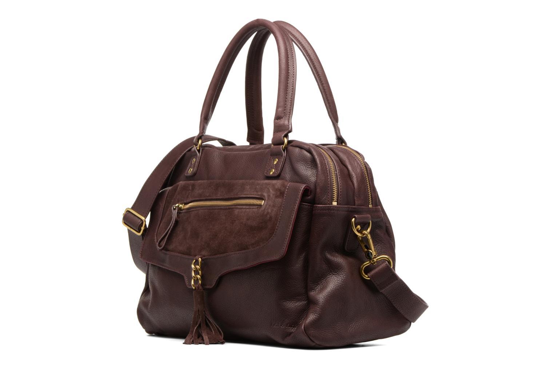 Handtaschen Nat & Nin Bonnie lila schuhe getragen