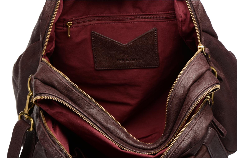 Handtaschen Nat & Nin Bonnie lila ansicht von hinten