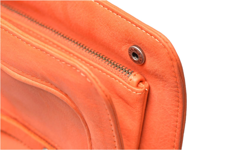 Petite Maroquinerie Nat & Nin LIV Orange vue gauche