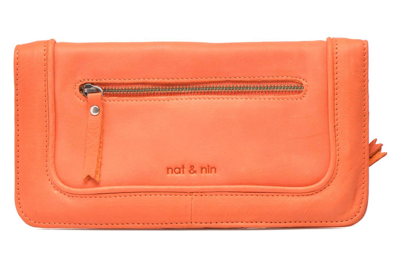 Petite Maroquinerie Nat & Nin LIV Orange vue détail/paire