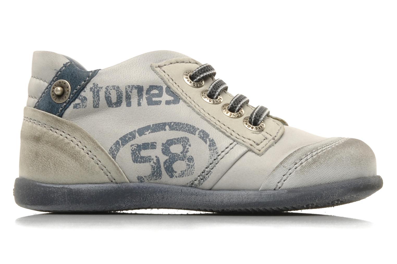 Sneakers Stones and Bones Sul Grå se bagfra