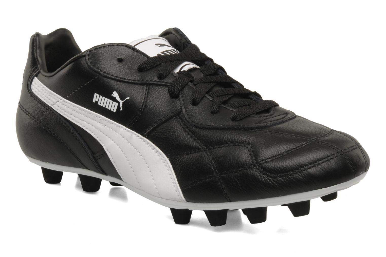 Chaussures de sport Puma Esito classic fg Noir vue détail/paire
